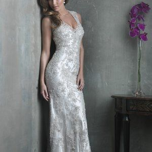 Allure Bridals Couture C304 Sample Wedding Gown 12